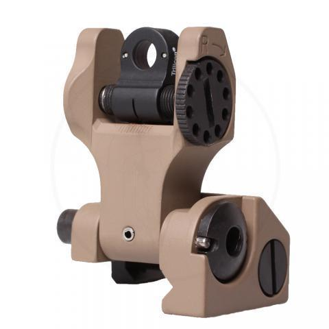 Rear Folding Sight, Tritium -Flat Dark Earth