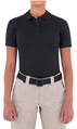 Womens Performance Short Sleeve Polo - Black