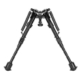 Caldwell XLA Shooting Rifle Bipods - Fixed Position w/ External Springs 6 - 9""