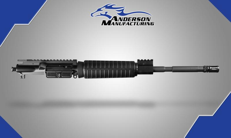 AOR Complete Upper with High Rise Gas Block minus Charging Handle and BCG