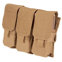 M4/M16 Triple Mag Pouch (Holds 6) - MOLLE, Coyote Tan