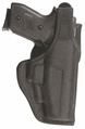 Model 7120 Defender Mid-Ride Duty holster w/ Jacket Slot Belt Loop