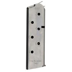Match Grade, Compact, .45 ACP, 7 Round, Stainless Magazine