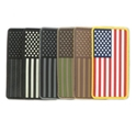 USA Flag PVC Patches