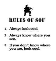 Rules of SOF Sticker