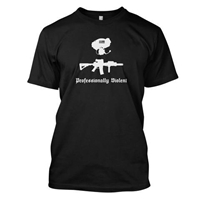 T-Shirt - Professionally Violent