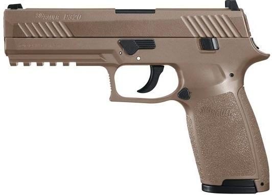 SIG P320 AIR PISTOL, COYOTE TAN air pistol, sig air pistol, training pistols, target air pistols, best bb gun, sig air gun, sig saur bb gun, sig sauer bb gun, air sport gun, sig airguns, sig sauer airguns, target airsoft guns