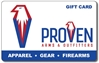 One Proven Arms & Outfitters Gift Card