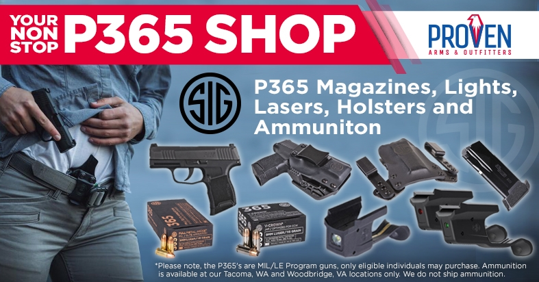 Sig Sauer P365 for sale, P365 accessories, p365 holsters