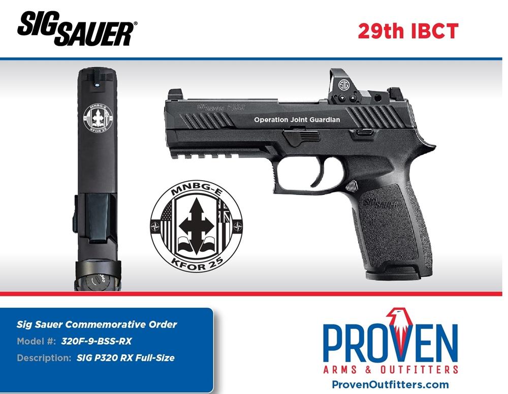 Sig Sauer P320 - 29th IBCT