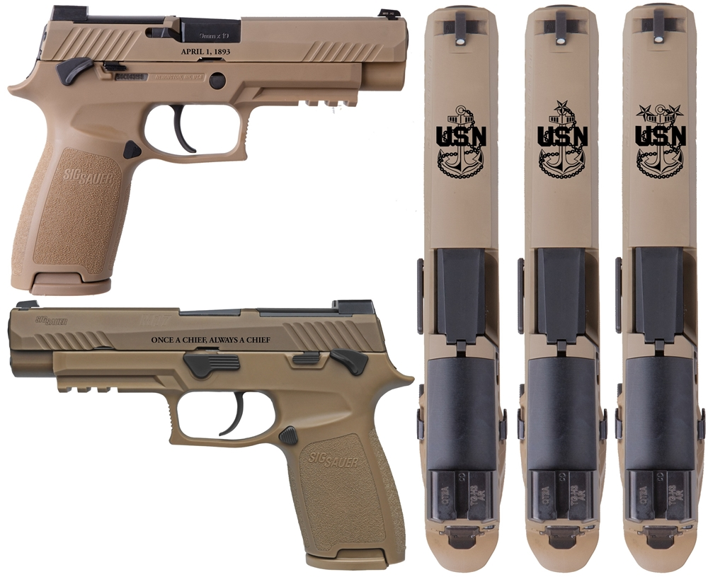 Navy Chief Sig Sauer P320 M17 Commemorative