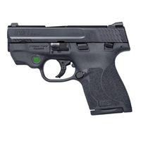 M&P SHIELD 2.0 9MM W/ CRIMSON TRACE GREEN LASER (1)7RD & (1) 8RD MAGAZINE