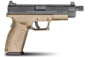 "XDM 4.5"" Full Size 9MM - Threaded Barrel FDE"